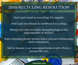 BWRS 2019 Recycling Resolution