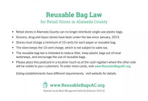 Reusable Bag Law