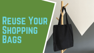 Reuse Your Shopping Bags