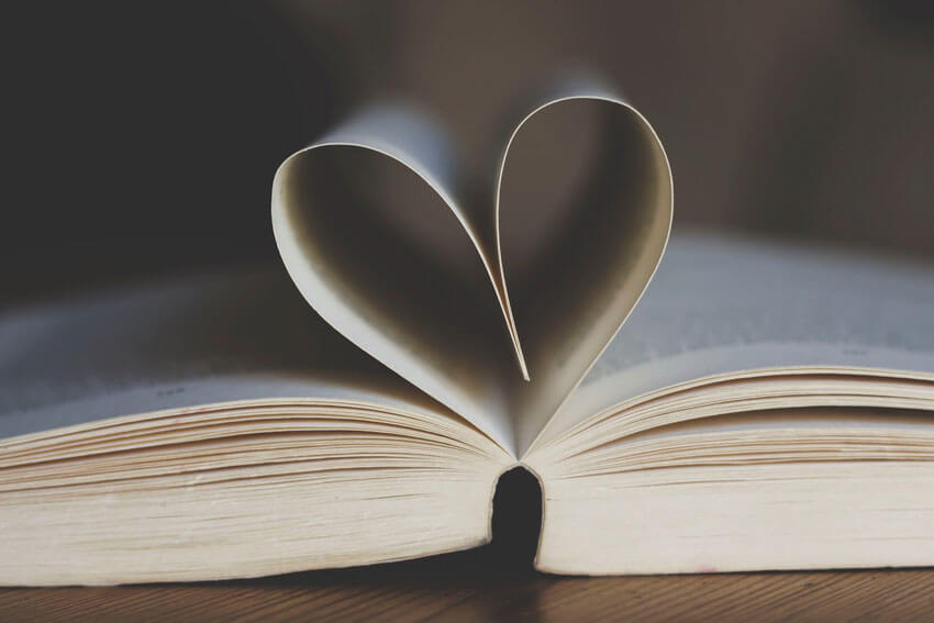 BWRS - Valentine's Day Zero Waste Tips - Book with Heart